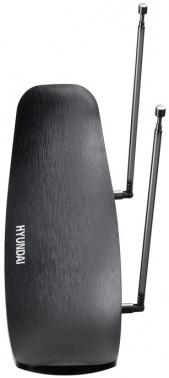Антенна телевизионная Hyundai H-TAI280 30дБ активная черный