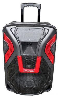 Минисистема Hyundai H-MC140 черный 500Вт/FM/USB/BT/SD/MMC
