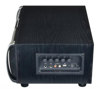 Минисистема Hyundai H-MAC120 серый 60Вт/FM/USB/BT/SD/MMC