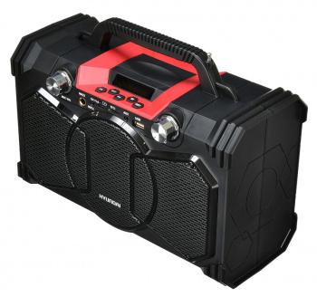 Минисистема Hyundai H-MC240 черный 40Вт/FM/USB/BT/SD/MMC