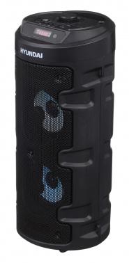 Минисистема Hyundai H-MC160 черный 50Вт/FM/USB/BT/SD/MMC