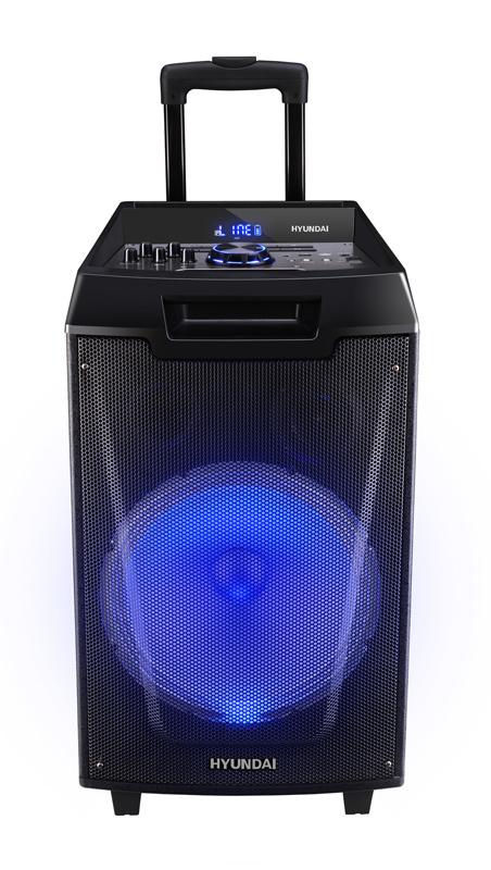 Минисистема Hyundai H-MC260 черный 60Вт/FM/USB/BT/SD/MMC/MS