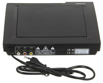 Плеер DVD Hyundai H-DVD140 черный ПДУ