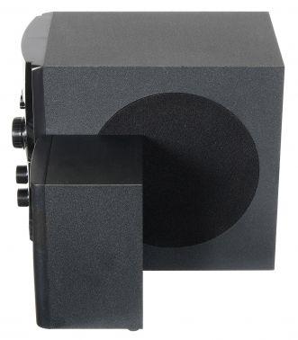 Микросистема Hyundai H-HA220 черный 49Вт/FM/USB/SD