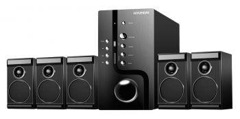Микросистема Hyundai H-HA520 черный 150Вт/FM/USB/SD
