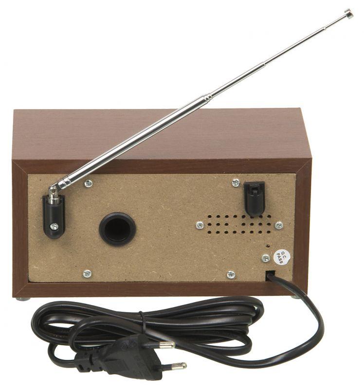 Радиоприемник настольный Hyundai H-SRS120 вишня