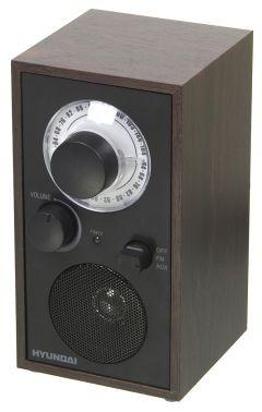 Радиоприемник настольный Hyundai H-SRS140 венге