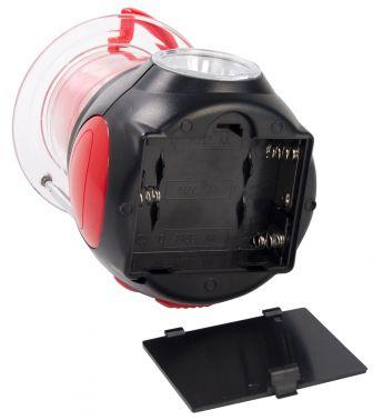 Радиоприемник портативный Hyundai H-RLC100 черный/красный