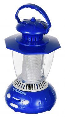 Радиоприемник портативный Hyundai H-RLC120 синий