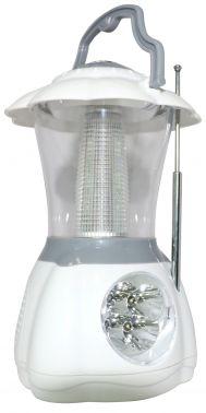 Радиоприемник портативный Hyundai H-RLC130 белый/серый