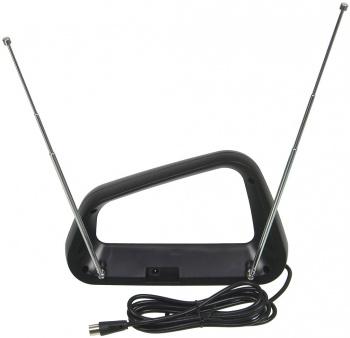 Антенна телевизионная Hyundai H-TAI340 30дБ активная черный