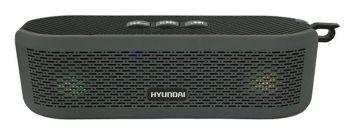 Колонка порт. Hyundai H-PAC180 черный 6W 1.0 BT/3.5Jack/USB