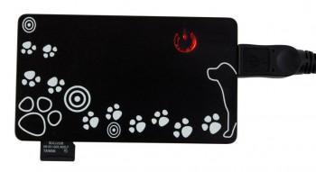CR-215DBK USB2.0 Dog Black
