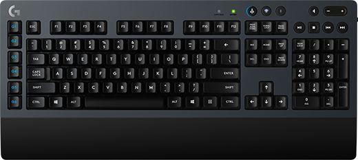 Клавиатура Logitech G613 механическая черный USB беспроводная BT Multimedia for gamer
