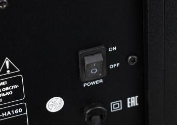 Комплект акустики Hyundai H-HA160 2.0 55Вт черный (в комплекте: 2 колонки)