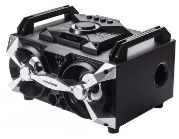 Минисистема Hyundai H-MAC100 черный 60Вт/FM/USB/BT/SD/MMC