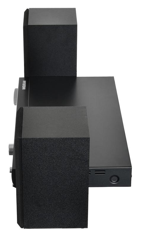 Микросистема Hyundai H-MS120 черный 10Вт/CD/CDRW/DVD/DVDRW/FM/USB