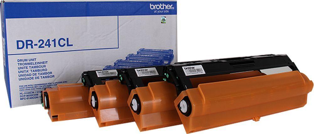 Блок фотобарабана Brother DR241CL цв:15000стр. для HL3140/3150/3170/DCP9020/MFC9140/MFC9330/MFC9340 Brother