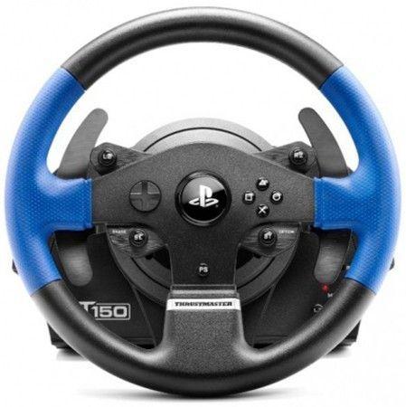 Руль ThrustMaster T150 RS EU Version 14кноп. (с педалями) черный