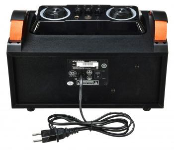Минисистема Hyundai H-MAC160 черный 80Вт/USB/BT/SD/MMC
