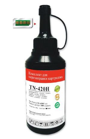Тонер Pantum TN-420H черный флакон (в компл.:чип) для принтера Series P3010/M6700/M6800/P3300/M7100/M7200/P3300/M7100/M7300