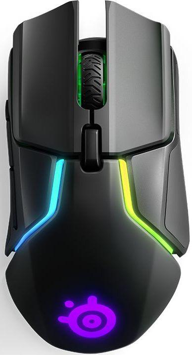 Мышь Steelseries Rival 650 черный оптическая (12000dpi) беспроводная USB (7but)