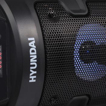 Минисистема Hyundai H-MC160 черный 50Вт FM USB BT SD/MMC