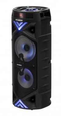 Минисистема Hyundai H-MC180 черный 80Вт/FM/USB/BT/SD/MMC