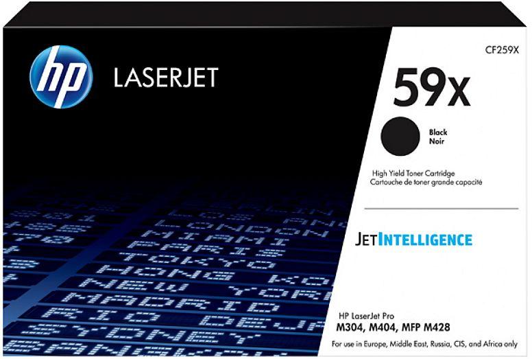 Картридж лазерный HP 59X CF259X черный (10000стр.) для HP LJ M304/M404/MFP M428