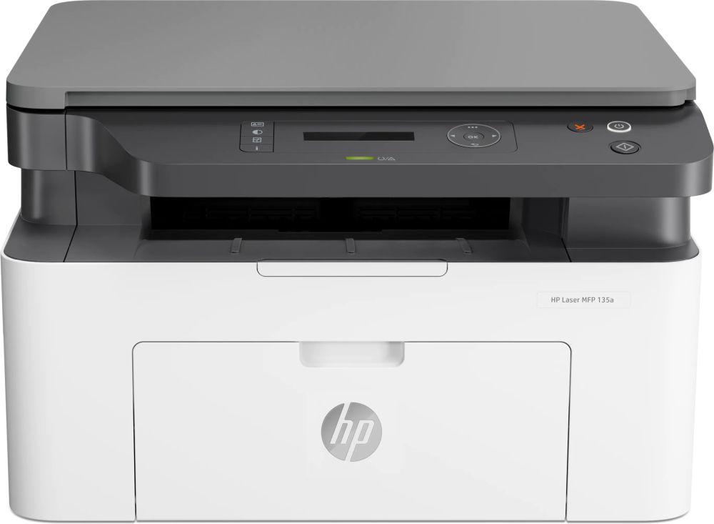 МФУ лазерный HP Laser 135a (4ZB82A) A4 белый/серый
