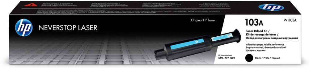 Заправочное устройство HP 103 W1103A черный (2500стр.) для HP Neverstop Laser 1000a/1000w/1200a/1200w