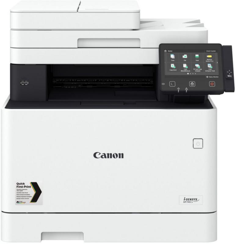 МФУ лазерный Canon i-Sensys Colour MF746Cx (3101C039) A4 Duplex WiFi белый/черный