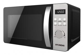 Микроволновая Печь Hyundai HYM-D2071 20л. 700Вт серебристый/черный