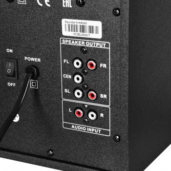 Микросистема Hyundai H-HA540 черный 150Вт FM USB BT SD/MMC/MS