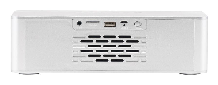 Радиобудильник Hyundai H-RCL360 белый LCD подсв:белая часы:цифровые FM