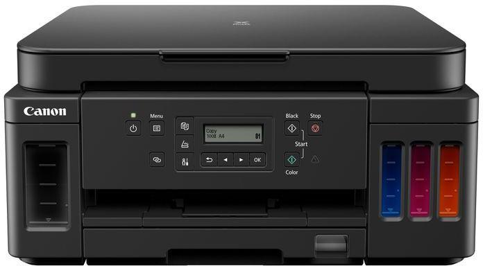 МФУ струйный Canon Pixma G6040 (3113C009) A4 Duplex WiFi USB RJ-45 черный