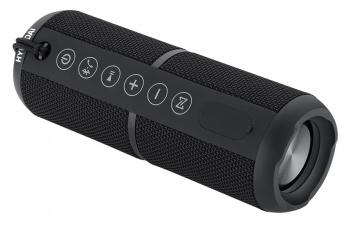 Колонка порт. Hyundai H-PAC320 черный 20W 1.0 BT/3.5Jack/USB 10м 4400mAh