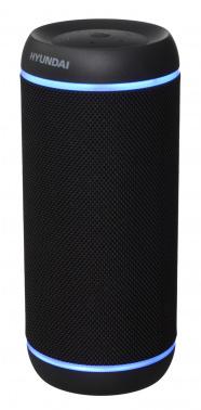 Колонка порт. Hyundai H-PAC380 черный 30W 1.0 BT/3.5Jack/USB 10м 6600mAh