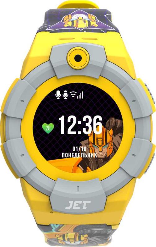 Смарт-часы Jet Kid Bumblebee 40мм 1.44