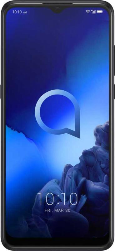 Смартфон Alcatel 5048Y 3X 64Gb 4Gb черный моноблок 3G 4G 2Sim 6.52