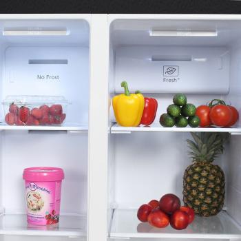 Холодильник Hyundai CS4505F черная сталь (двухкамерный)