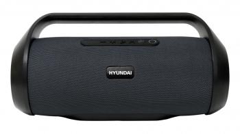 Колонка порт. Hyundai H-PAC420 серый/черный 50W 2.0 BT/3.5Jack/USB 10м 3600mAh