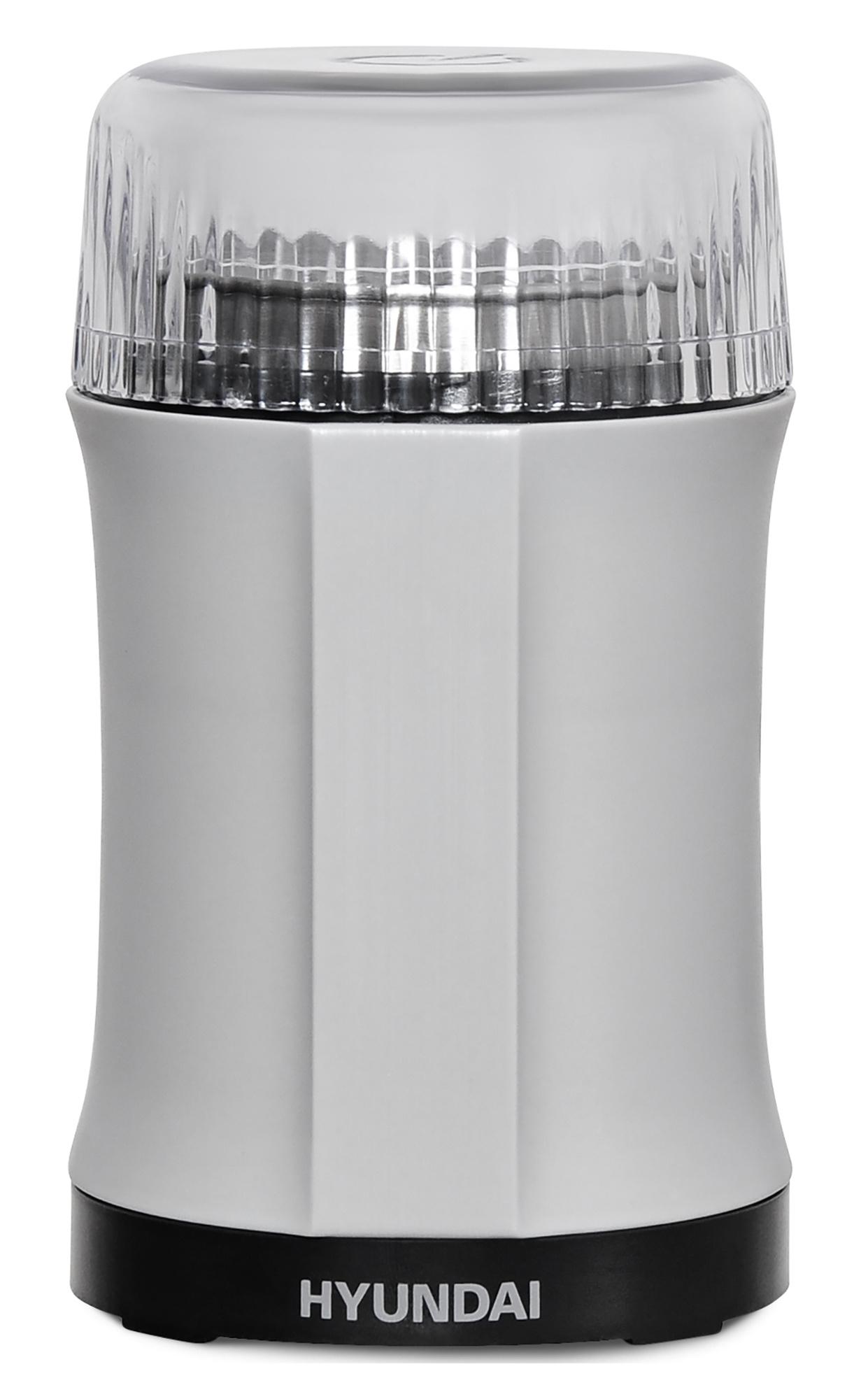 Кофемолка Hyundai HYC-G3241 200Вт сист.помол.:ротац.нож вместим.:40гр черный