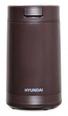 Кофемолка Hyundai HYC-G4251 200Вт сист.помол.:ротац.нож вместим.:50гр коричневый