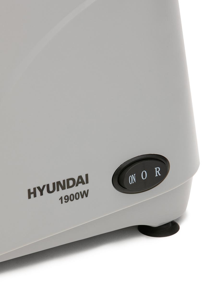 Мясорубка Hyundai HY-MG4391 1900Вт серый/черный