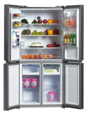 Холодильник Hyundai CM4505FV нержавеющая сталь (трехкамерный)