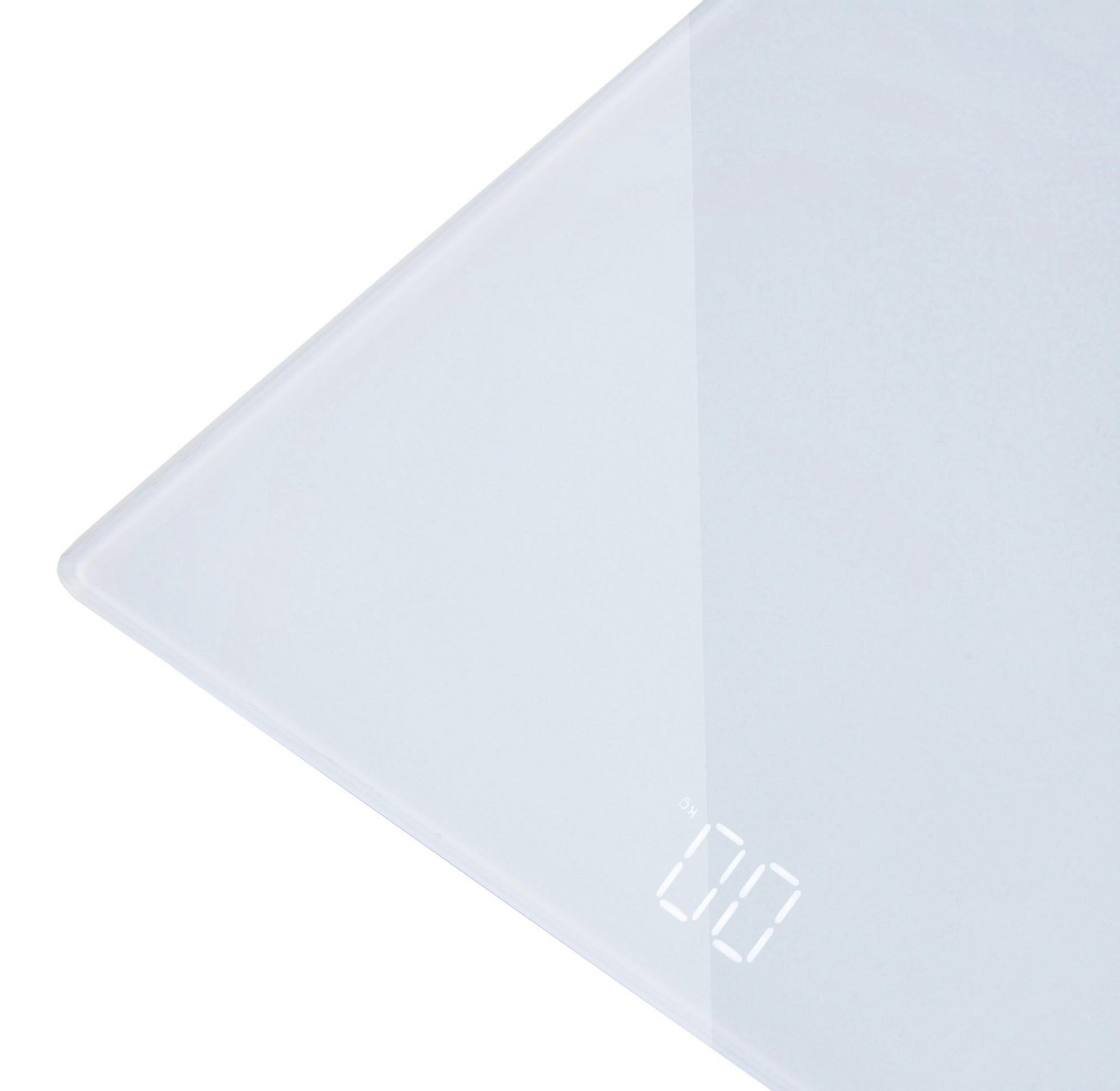 Весы напольные электронные Hyundai H-BS03781 макс.180кг белый