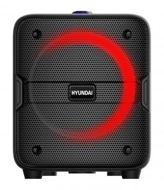 Минисистема Hyundai H-MAC180 черный 30Вт/FM/USB/BT/SD/MMC