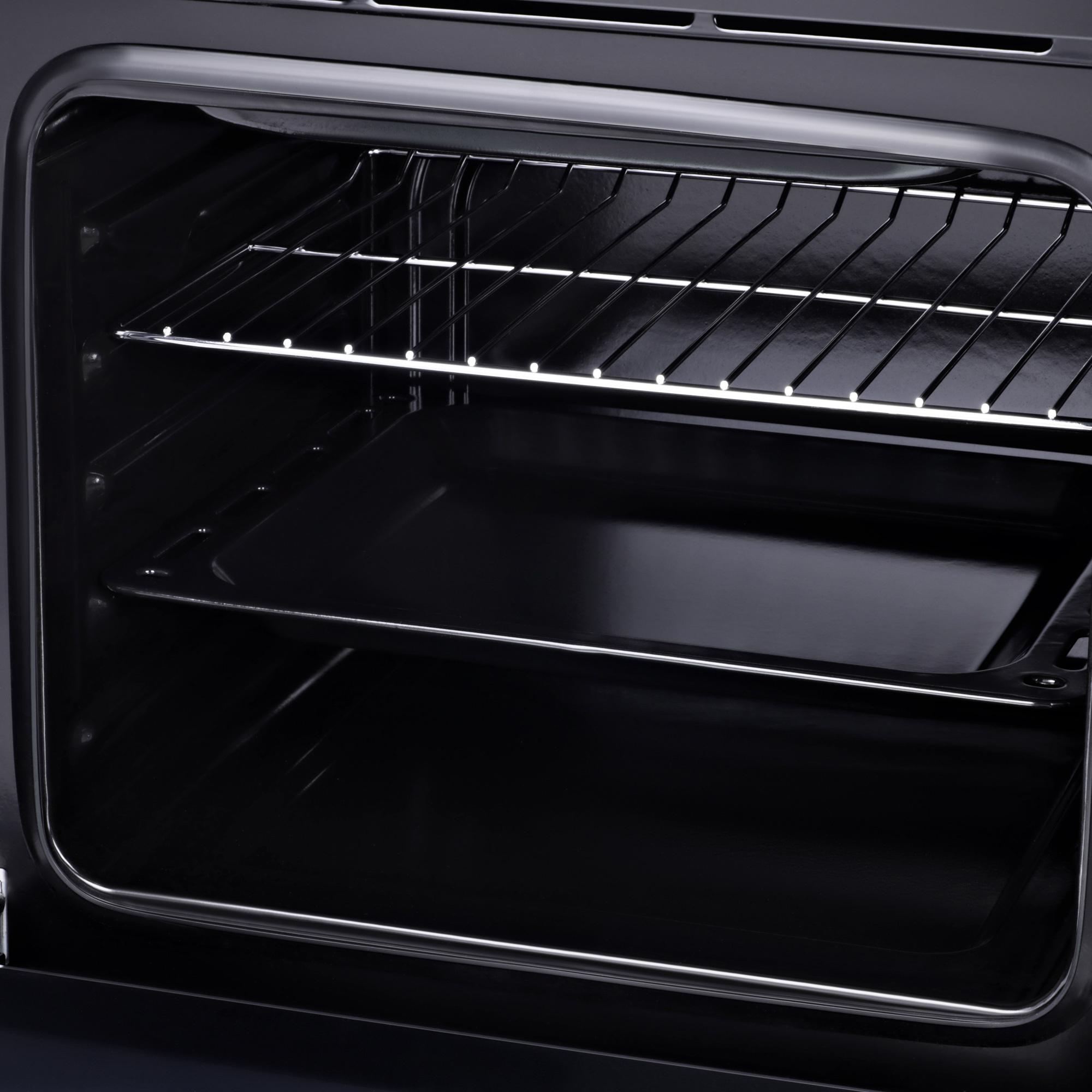 Духовой шкаф Электрический Hyundai HEO 6630 BG черный