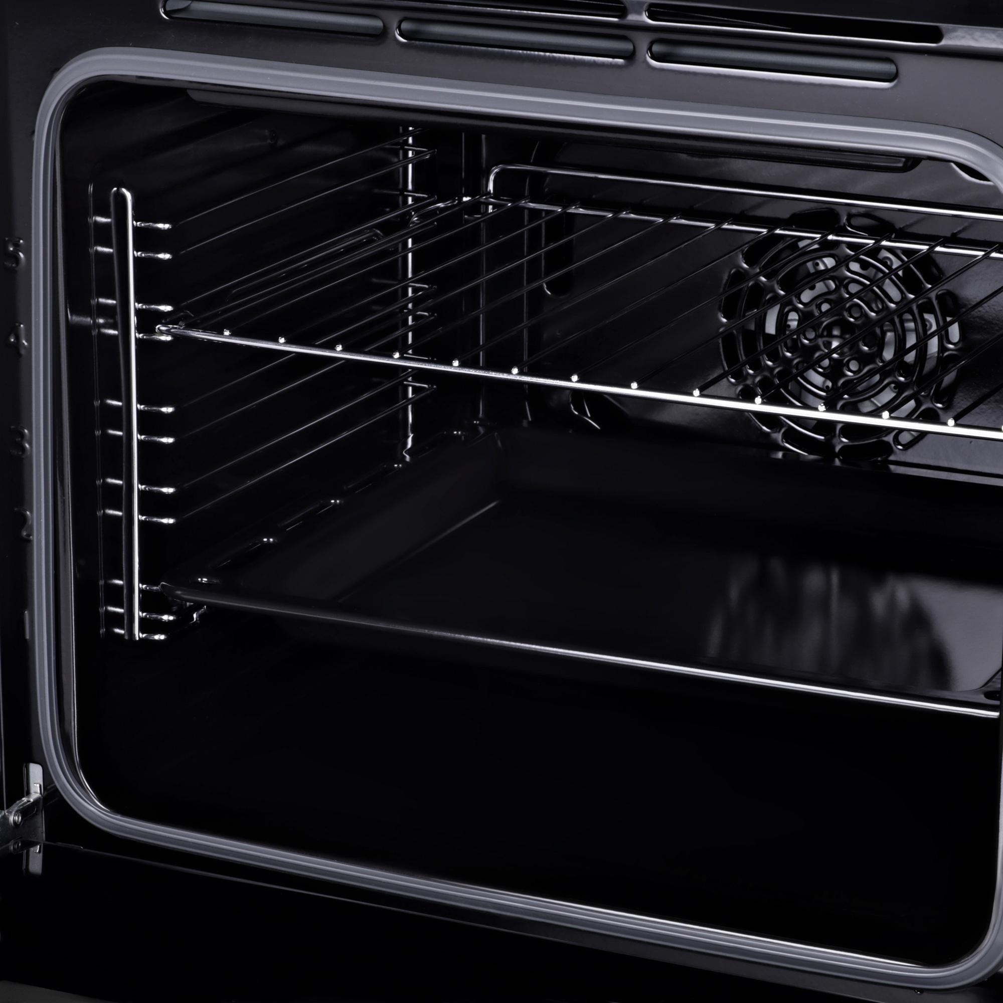 Духовой шкаф Электрический Hyundai HEO 6640 BG черный